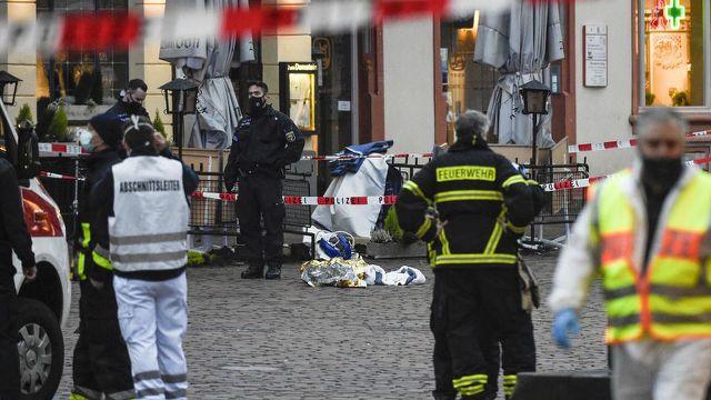Allemagne : un chauffard fonce sur des piétons et tue cinq personnes