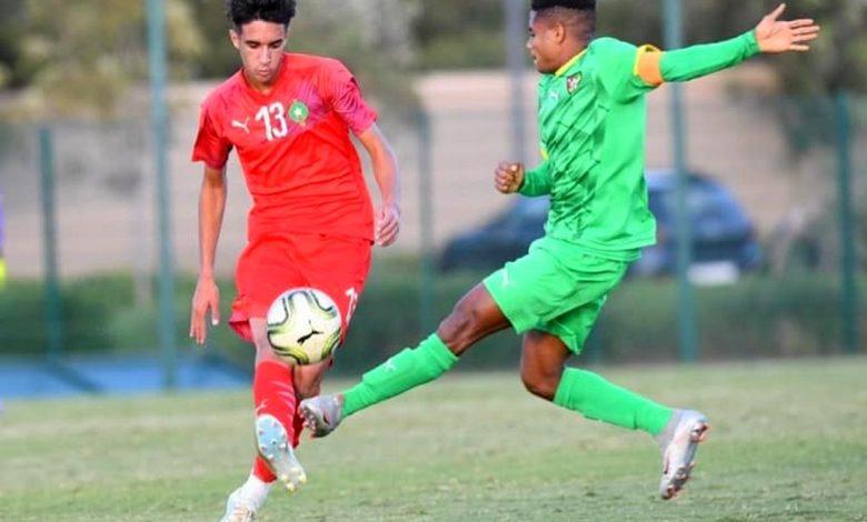 Amical/U20: nul (1-1) entre le Maroc et le Togo