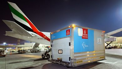 emiratesskycargotransportsfirstbatchofpfizer biontechcovid 19vaccinesfordubaihealthauthority