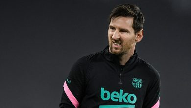 messi grimace barca training