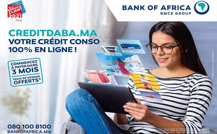 BOA lance sa plateforme « creditdaba.ma »