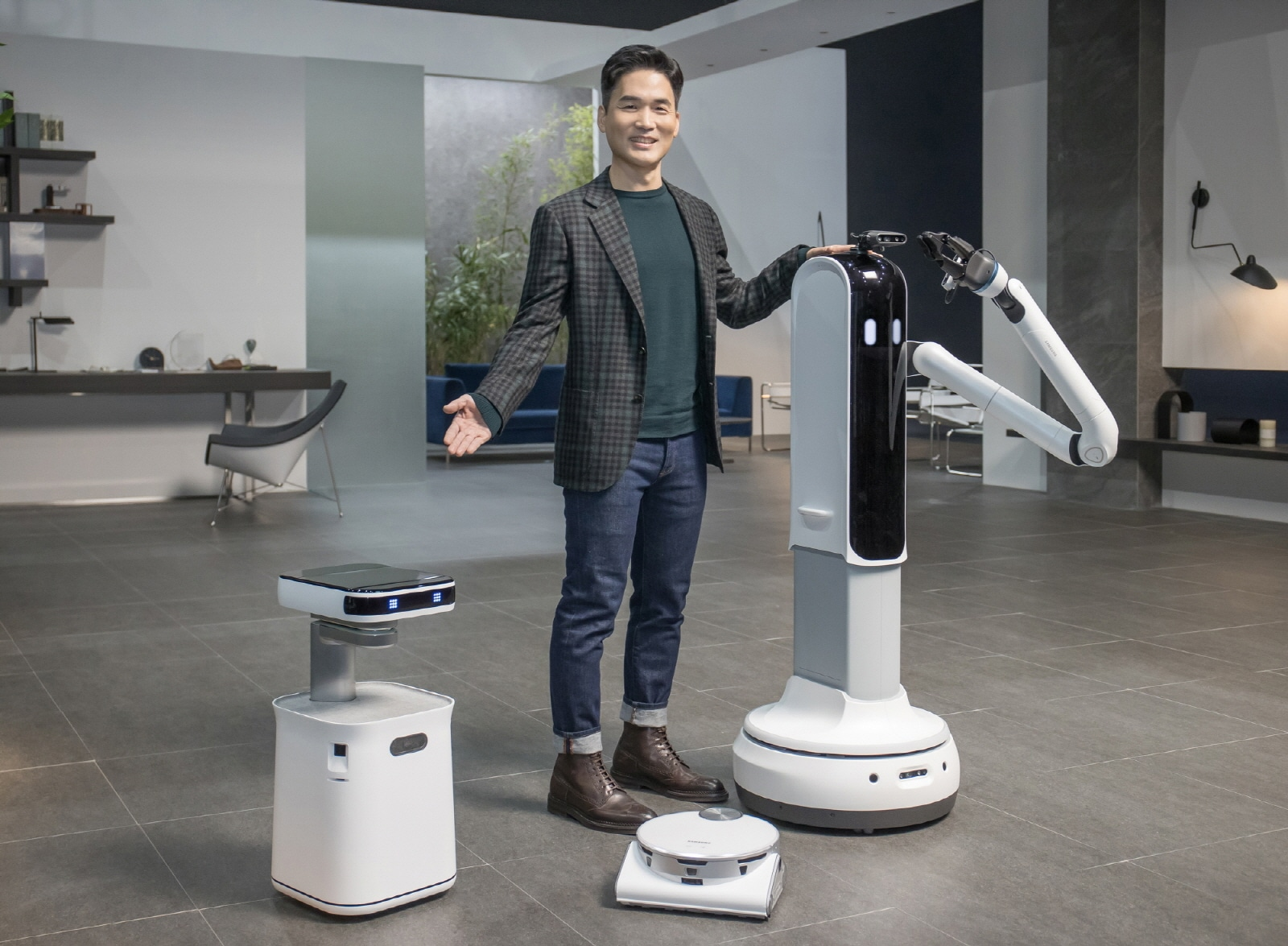 CES 2021 Samsung Press Conference Bringing AI and Robots to Daily Life