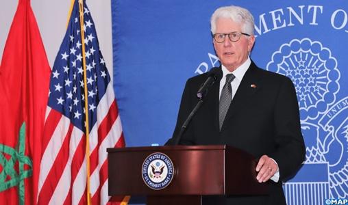 David Fischer: SM le Roi a jeté les bases d'un partenariat plus étroit avec les États-Unis