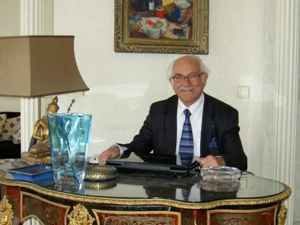 Audré Derhy Président de la Fédération Séfarade de France