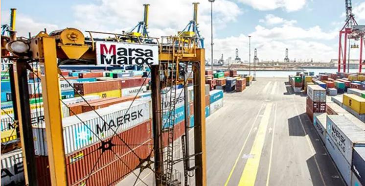Marsa Maroc Port anger Med