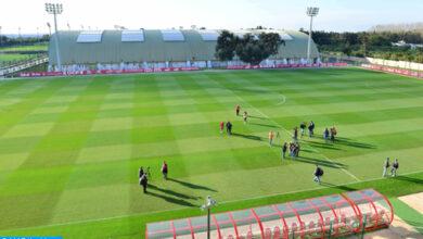 Football - La sélection nationale des joueurs locaux en stage à Maâmora, du 23 au 29 mars