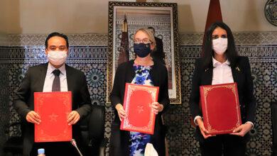 Signature d'une convention entre le ministère du Tourisme, de l'Artisanat, du Transport Aérien et de l'Économie Sociale et l'Agence française de Développement