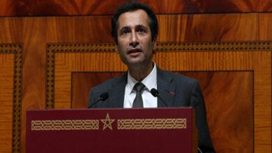 Le ministre de l'Économie et des finances, Mohamed Benchaâboun, présente le projet de loi de finances 2019 devant le Parlement_BH