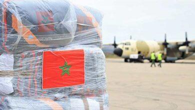 envoi d'une aide humanitaire d'urgence aux Palestiniens