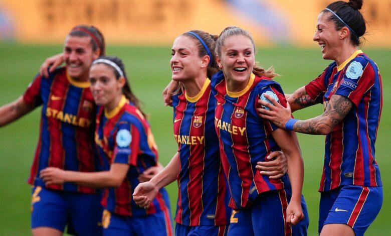 Ligue des Champions/dames: Barcelone bat Paris 2 à 1 et se qualifie pour la finale