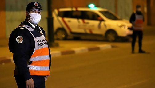 Laâyoune: Une mobilisation sans faille des forces de sécurité pour faire respecter le couvre-feu sanitaire