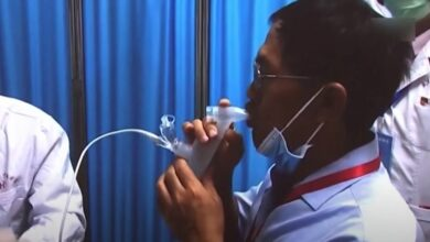 Covid-19: Les vaccins chinois par pulvérisation nasale en phase d'essais cliniques (chercheur)