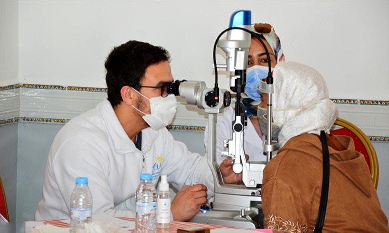 Guercif : Une caravane médicale en ophtalmologie au profit des anciens combattants