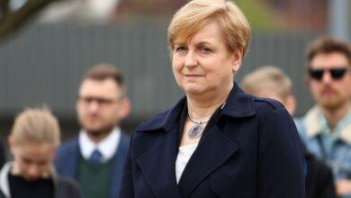L'eurodéputée polonaise Anna Fotyga