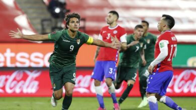 News Point dor la Bolivie a fait match nul 1 1 avec le Chili pour les eacuteliminatoires du Qatar 2022