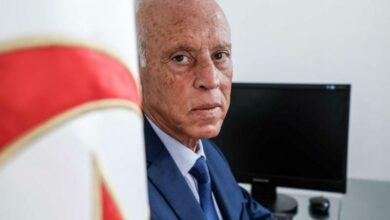 President of Tunisia Kais Saied