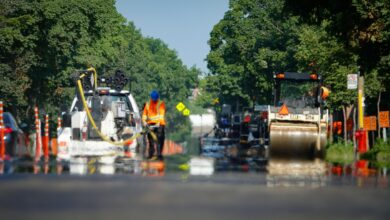 canicule montreal asphalte