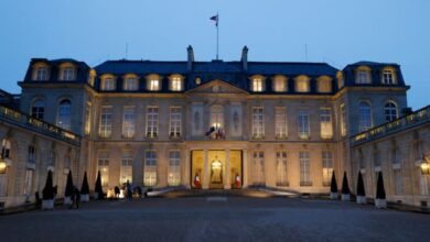 Le palais de l Elysee le 10 mars 2021 a Paris 999600