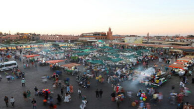 Marrakech : Large campagne de sensibilisation anti-Covid-19 à la place Jemâa El Fna